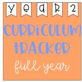 Year 2 Curriculum Tracker