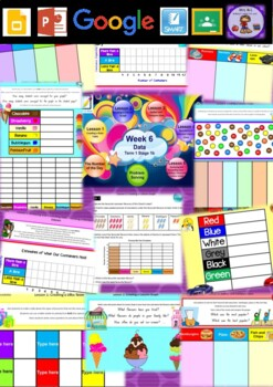 Year 2 Data Smart Notebook and Unit of Work Bundle 1