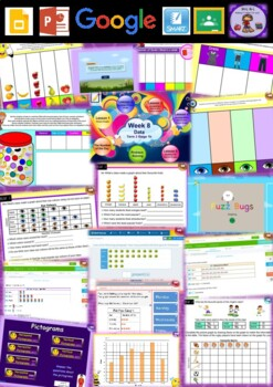 Year 2 Data Smart Notebook and Unit of Work Bundle 2