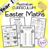 Year 1 Easter Maths Sheets - Australian Curriculum Aligned