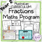 Year 2 Fractions Australian Curriculum Maths Program