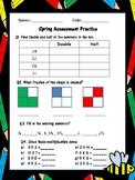 Year 2/ Grade 2 Math Assessment (Spring)