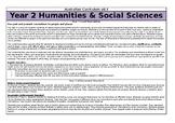 Year 2 HASS Overview - Australian Curriculum v8.3
