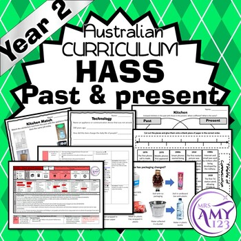 Year 2 HASS Past and Present Unit - History- Australian Curriculum