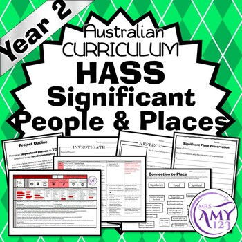 Year 2 HASS Significant People and Places Unit - Australian Curriculum