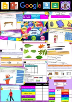 Year 2 Length Smart Notebook and Unit of Work Bundle 2
