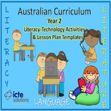 Year 2 Literacy-Technology Lesson Plans