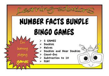 Year 2 MATHS GAMES BUNDLE - over 30 games