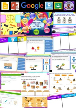 Year 2 Mass Smart Notebook and Unit of Work Bundle 1