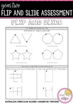 Year 2 Mathematics Assessment   FLIP AND SLIDE
