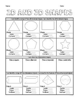 Year 2 Mathematics Assessment | SHAPE