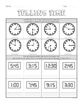Year 2 Mathematics Assessment   TIME