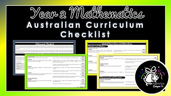 Year 2 Mathematics | Australian Curriculum Checklist