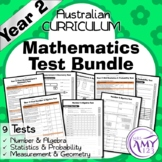 BTSDownunder Year 2 Mathematics Test Pack- Australian Curriculum