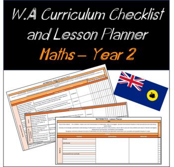 Year 2 Mathematics Western Australian Curriculum Checklist and Lesson Planner