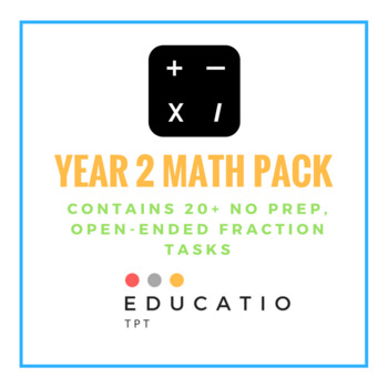 Year 2 No Prep Maths Pack (Freebie)