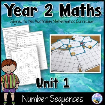 Number Sequence Worksheets Teaching Resources | Teachers Pay Teachers