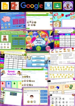 Year 2 Money Smart Notebook and Unit of Work Bundle 1
