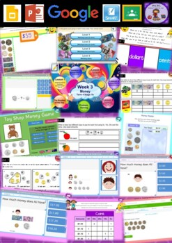 Year 2 Money Smart Notebook and Unit of Work Bundle 2