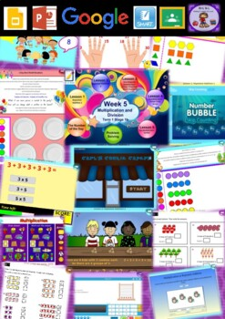 Year 2 Multiplication and Division Smart Notebook and Unit of Work Bundle 1