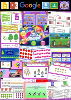 Year 2 Multiplication and Division Smart Notebook and Unit of Work Bundle 2