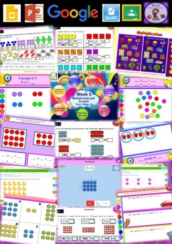 Year 2 Multiplication and Division Smart Notebook and Unit of Work Bundle 4