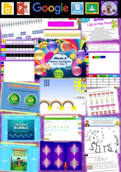 Year 2 Patterns and Algebra Smart Notebook and Unit of Work Bundle 1