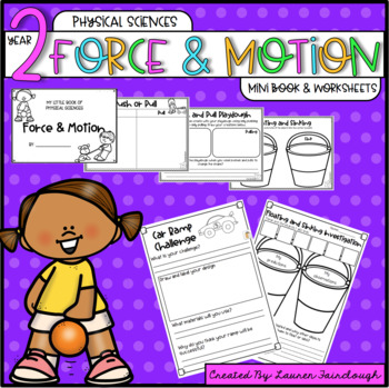 Year 2 Physical Sciences. Mini Book and Worksheets.