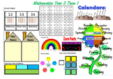 Year 2 Placemat 1