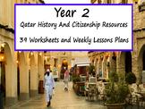 Year 2 Qatar History Worksheets