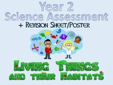 Year 2 Science Assessment: Living Things and Their Habitats + Poster