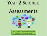 Year 2 Science Assessments and Tracking