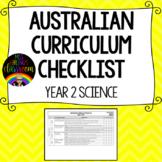 Year 2 Science - Australian Curriculum Checklist