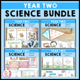 Year 2 Science Bundle Biological Chemical Earth Space Physical