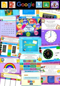 Year 2 Time Smart Notebook and Unit of Work Bundle 1