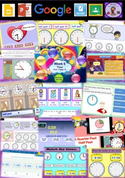 Year 2 Time Smart Notebook and Unit of Work Bundle 2
