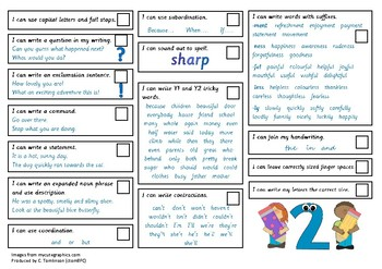 Year 2 (UK) Writing Checklist