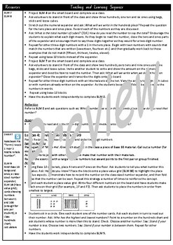 Year 2 Whole Number Smart Notebook and Unit of Work Bundle 1