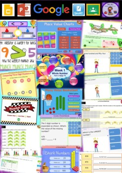 Year 2 Whole Number Smart Notebook and Unit of Work Bundle 2