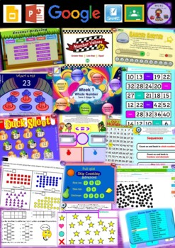Year 2 Whole Number Smart Notebook and Unit of Work Bundle 3