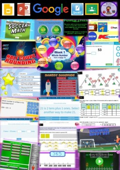 Year 2 Whole Number Smart Notebook and Unit of Work Bundle 4