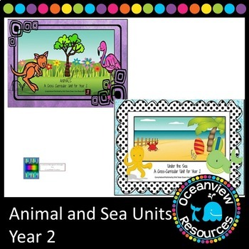Year 2 Sea and Animal Themed Bundle