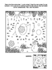 Year 2018 Connect the Dots and Coloring Page, Non-CU