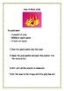 Grade 1/2 Literacy Unit: The Five Senses - Procedure and Poetry