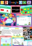 Year 3 & 4 2D Space Smart Notebook and Unit of Work Bundle 1