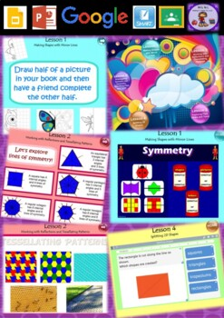 Year 3 & 4 2D Space Smart Notebook and Unit of Work Bundle 2
