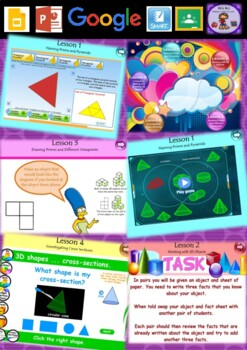 Year 3 & 4 3D Space Smart Notebook and Unit of Work Bundle 2