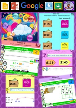 Year 3 & 4 Addition and Subtraction Smart Notebook and Unit of Work Bundle 1