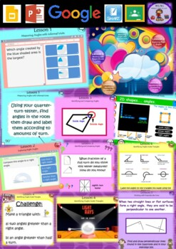 Year 3 & 4 Angles Smart Notebook and Unit of Work Bundle 2