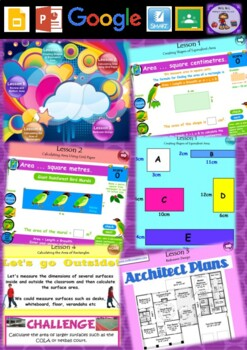 Year 3 & 4 Area Smart Notebook and Unit of Work Bundle 2